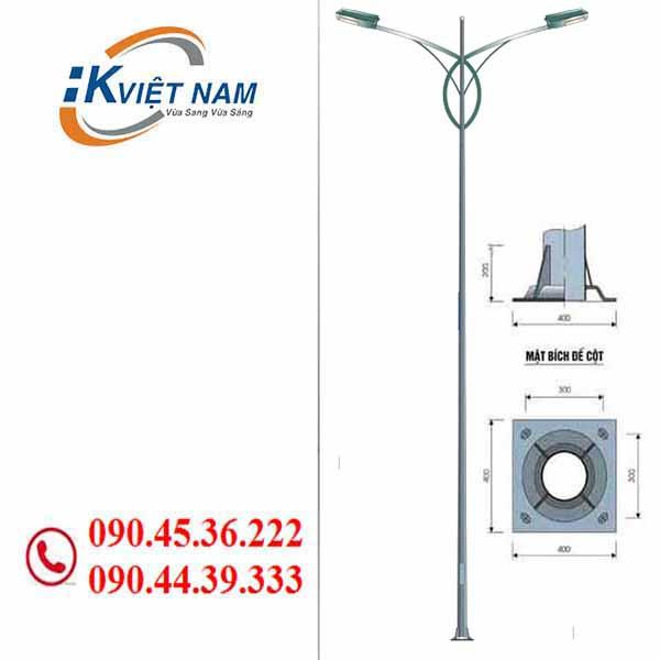 cột đèn cao áp hk14