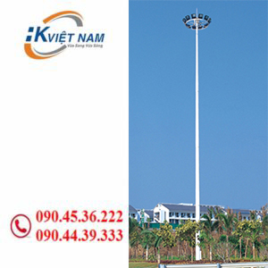 Cột đèn nâng hạ 20m