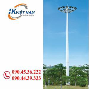 Cột đèn nâng hạ 25m